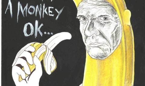 Με μια μπανάνα στο χέρι