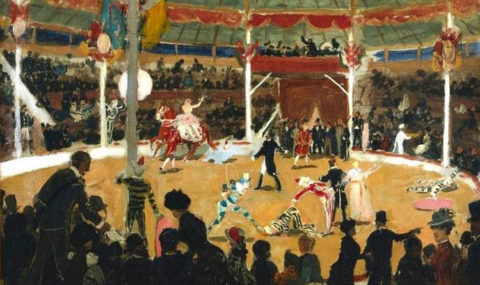 Στο τσίρκο